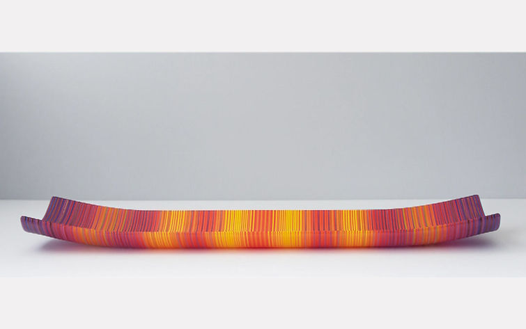 Pan & Zoom ColourWave Glass Plate