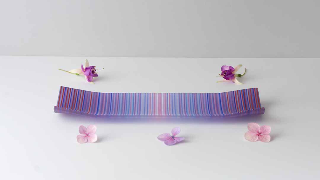 ColourWave Glass – Purple Shimmer (S) –
