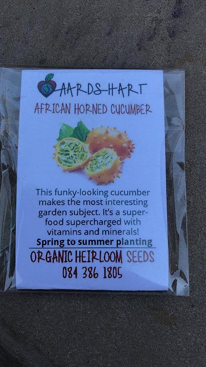 African Horned Cucumber - Organic Heirloom Seeds