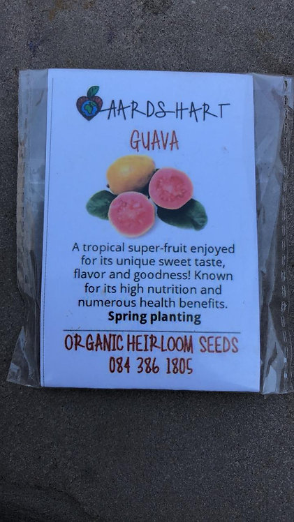 Guava - Organic Heirloom Seeds
