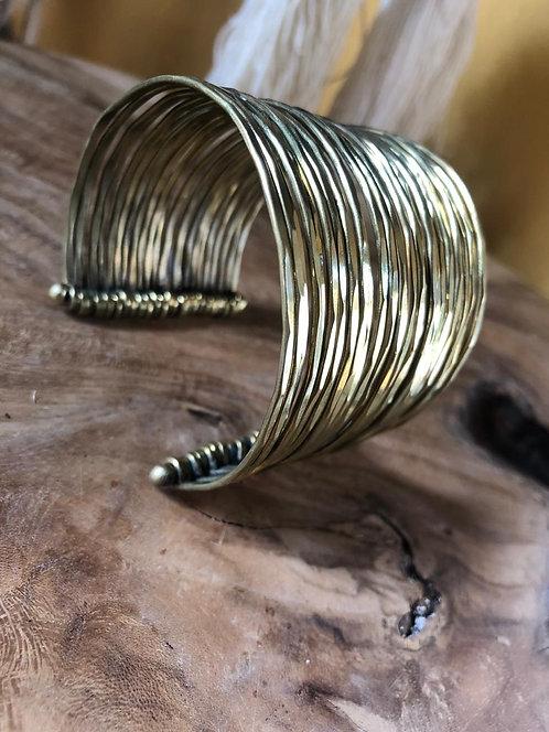 Thick bracelet