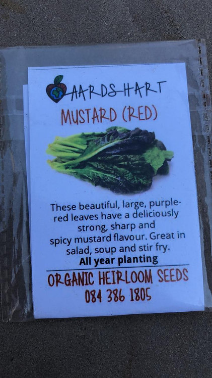 Mustard (red) Heirloom