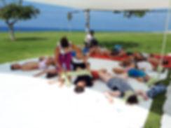 yoga beach event in tel aviv yoawith daniela tlv