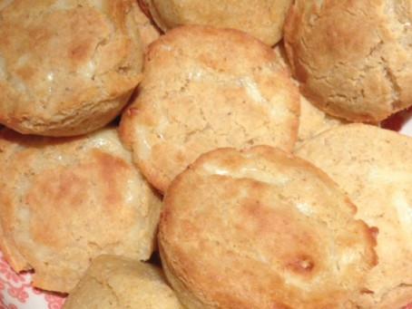Wholegrain Cheese Muffins