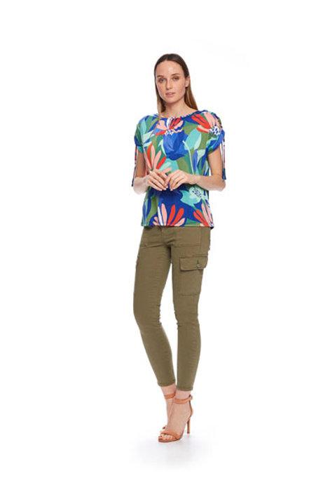 Camiseta viscosaTrópico