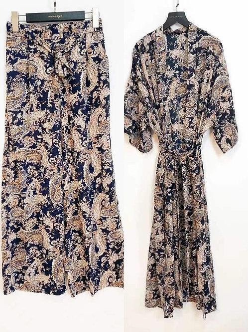 Pantalón conjunto Kimono