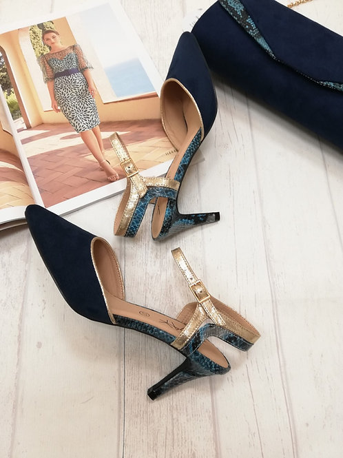 Zapato  Medio combinado