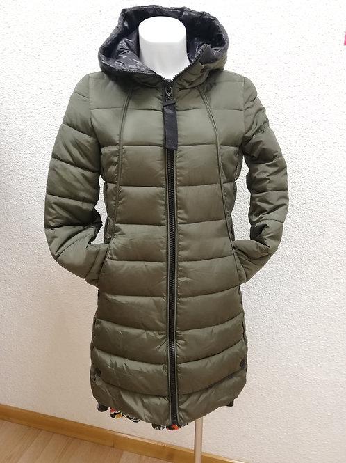 abrigo acolchado detalles