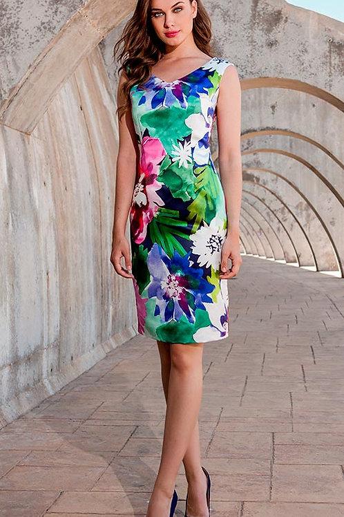 Vestido Floral de Olimara
