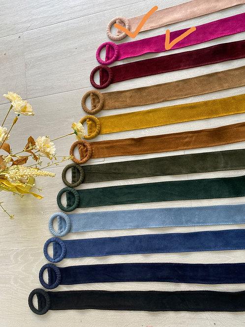 Cinturón ante colores
