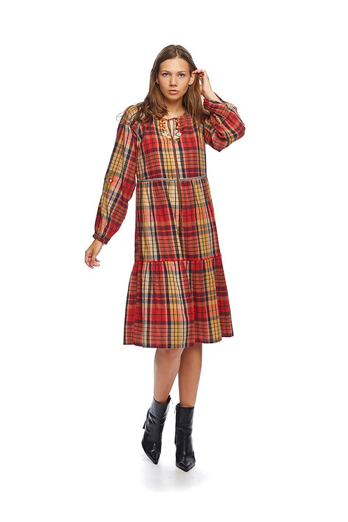 Vestido Laura bordado