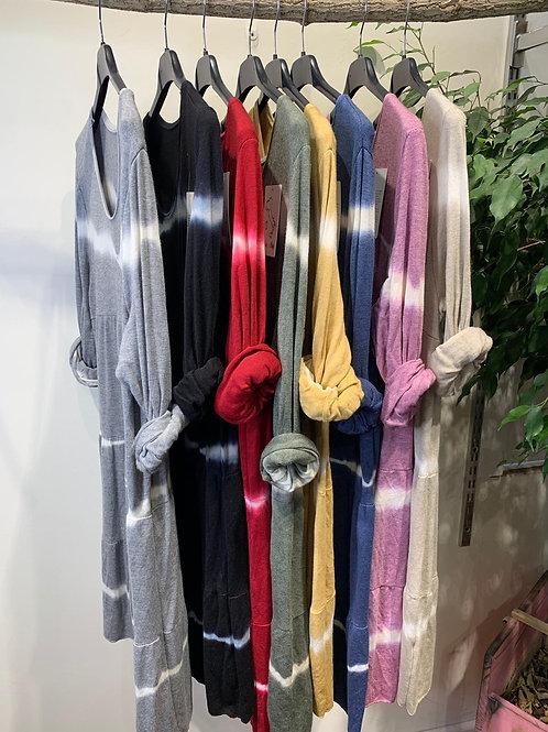 Vestido punto Tie dye