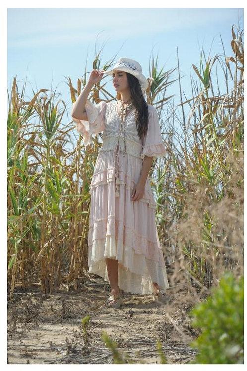 Vestido bordado Pedrería