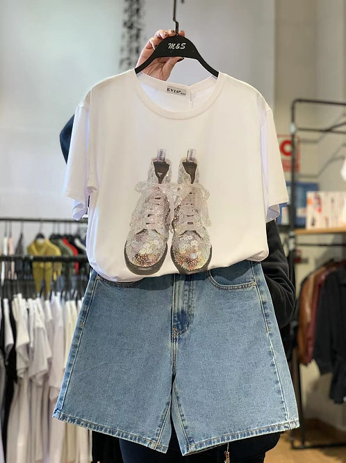 Camiseta botas