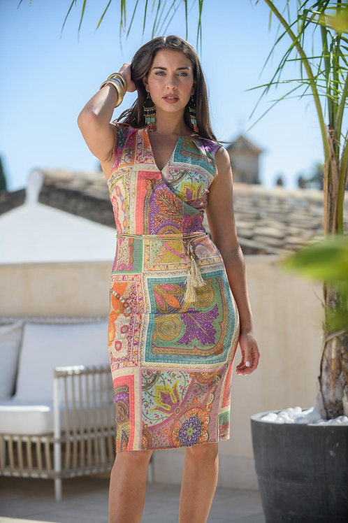 Vestido patchwork s/m