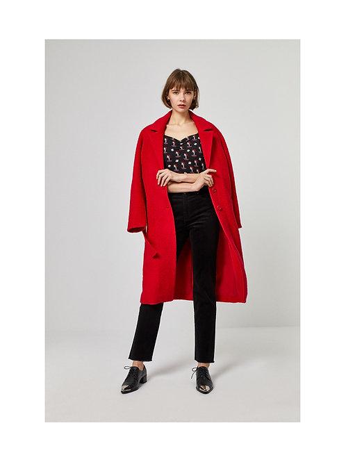 Abrigo Wool Rojo