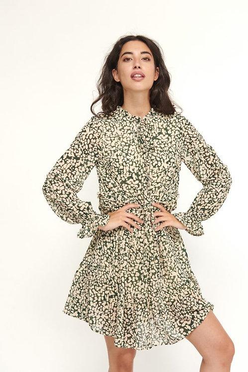 Vestido Print Verde