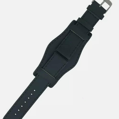Watch straps in different colours genuine leather