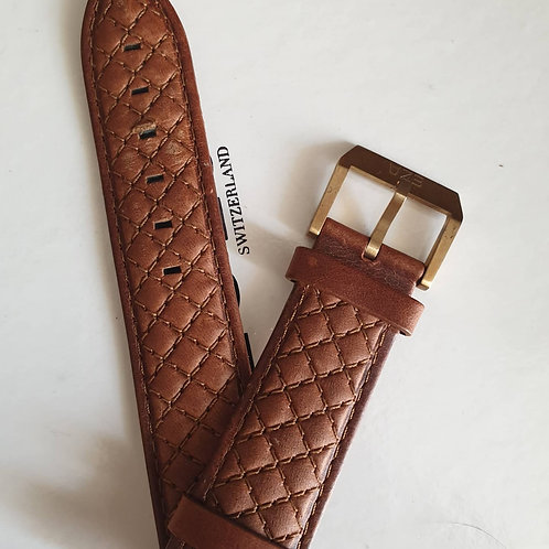 Leather strap and rubber diver strap for Ezs