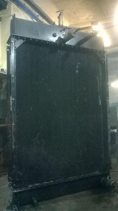 ремонт радиатора дизель-генератора