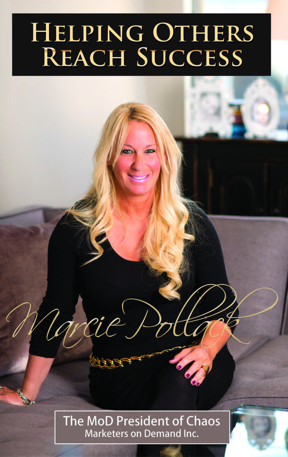 """MARCIE POLLACK : CEO MARKETERS ON DEMAND """" HELPING OTHERS ACHIEVE SUCCESS"""""""