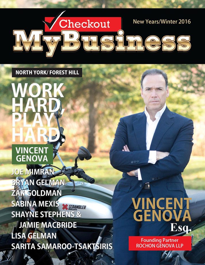 "VINCENT GENOVA PERSONAL INJURY LAWYER ""WORK HARD , PLAY HARD"""