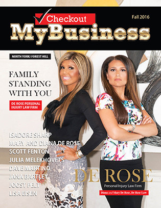 """MARY DE ROSE & DIANA DE ROSE PERSONAL INJURY LAW FIRM;DE ROSE LAW """"FAMILY STANDING WITH YOU"""