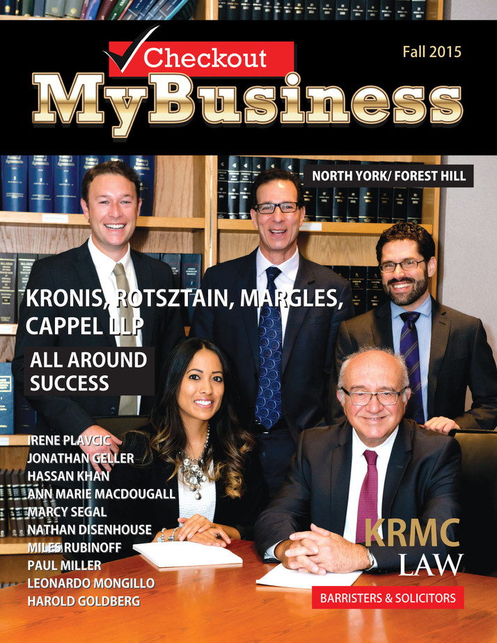 """KRONIS,ROTSZTAIN,MARGLES,CAPPEL LLP  """"ALL AROUND SUCCESS"""""""