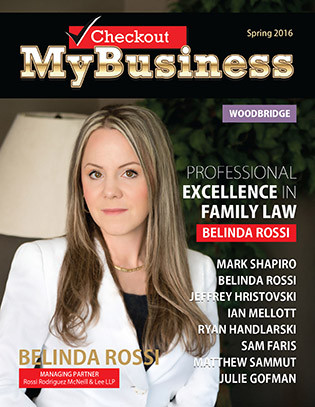 "BELINDA ROSSI Managing Partner ROSSI RODRIGUEZ MCNEILL & LEE LLP ""PROFESSIONAL EXCELLENCE"