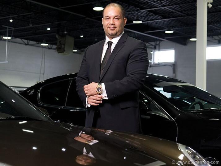 "SHAUN JALILI CEO AND PRESIDENT PLATINUM CARS INC.""LUXURY CARS"""