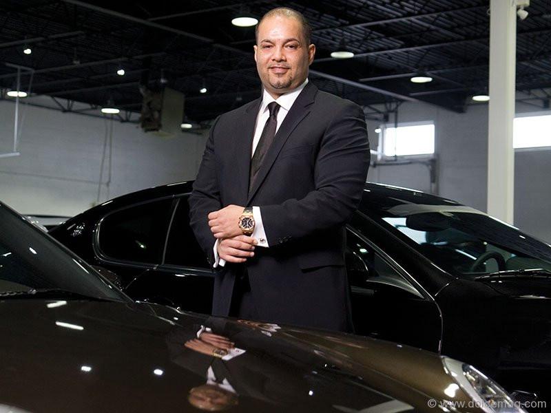 SHAUN JALILI; CEO PLATINUM CARS INC.