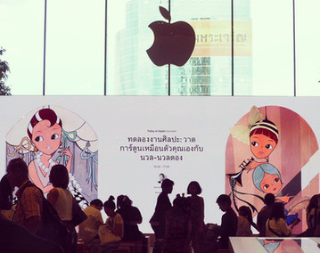 workshop for APPLE STORE ICONSIAM