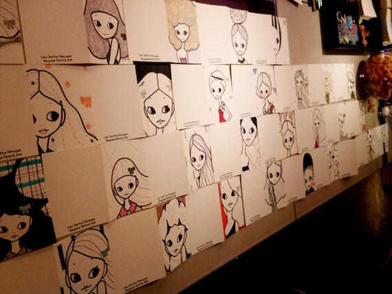 Portraits LIVE drawing