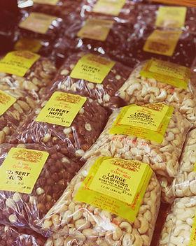 Filberts,Cashews