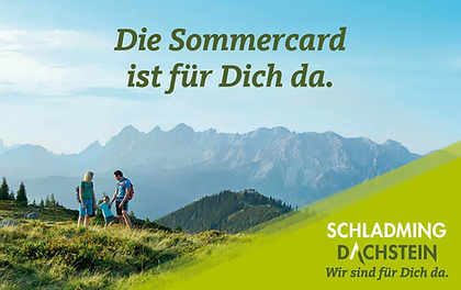 ROCKS Schladming ist Sommercard Partner