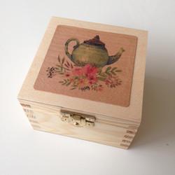 Mini krabička na čaj