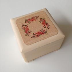 Drevená krabička - mandala