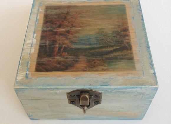 Krabička s krajinkou