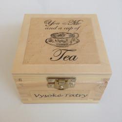 Mini tea box