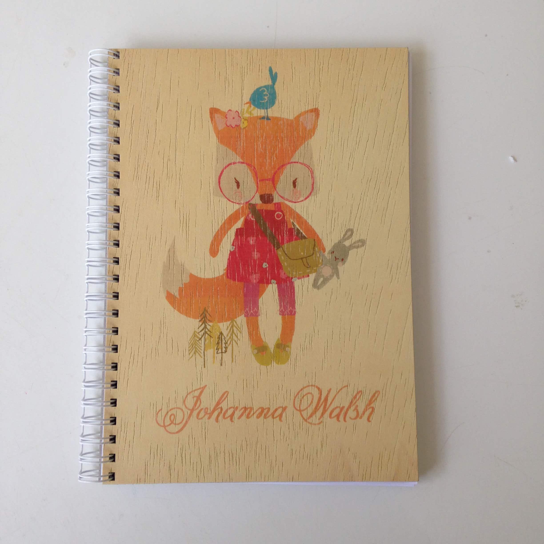 A5 Veneered notebook