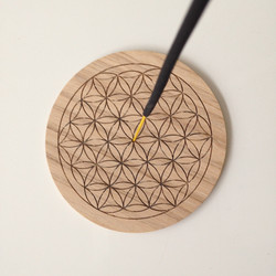 Detailed Flower of Life roundal