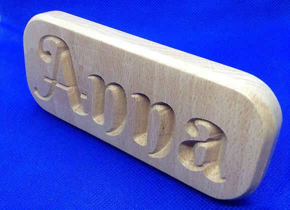 Name plaque - Anna