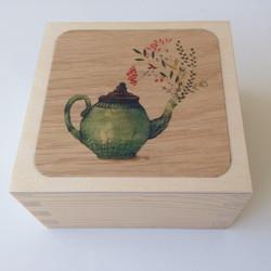 Floral teapot 2