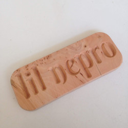 Lil nepro name plaque