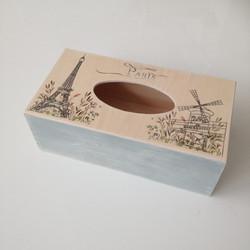 Paris - krabička na vreckovky