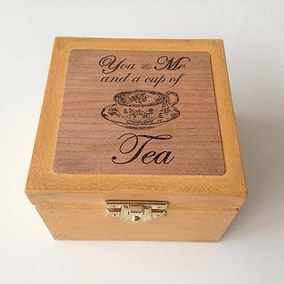 Mini Tea Box with 4 teas