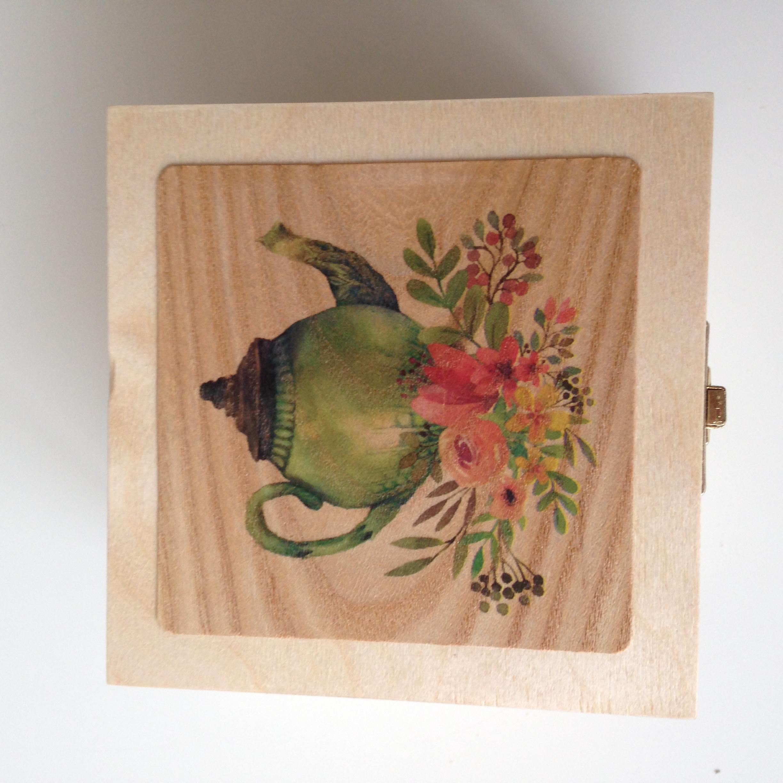 Floral teapot 1