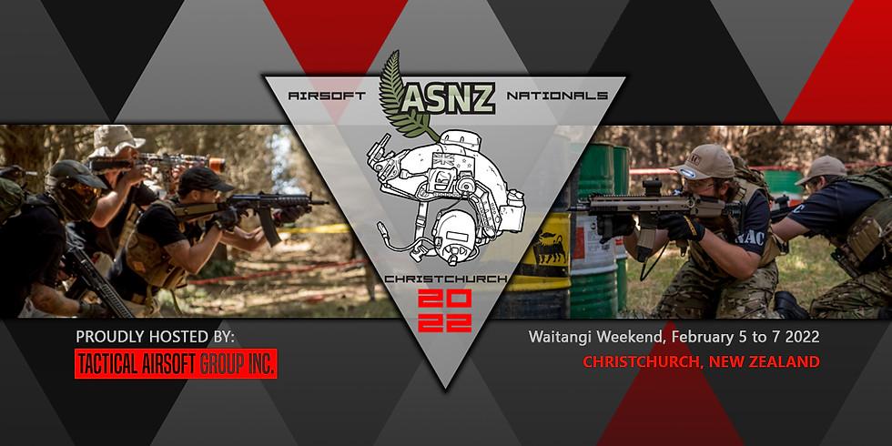 ASNZ Nationals 2022