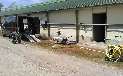deborde nettoyage materiel avicole hanga