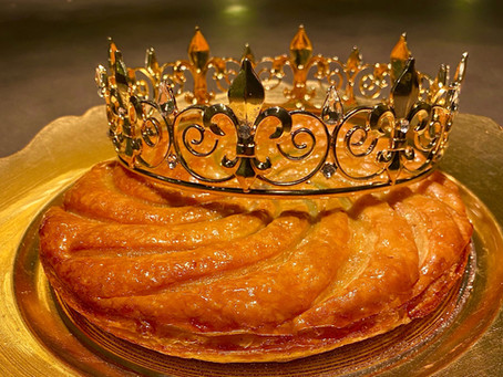 Celebrate Epiphany with our Galette Des Rois.